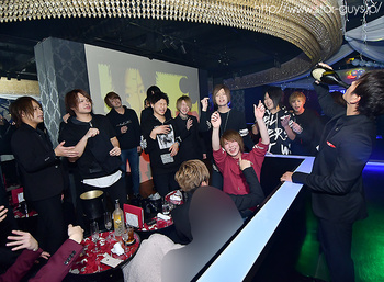 四葉 恭弥、天音 柚、敬斗 BIRTHDAY PARTY