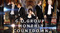 【G.O.Group】Monthly COUNTDOWN 2019年1月度ランキング